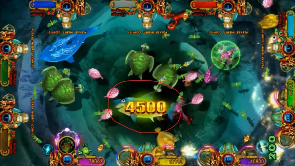 big fish table game